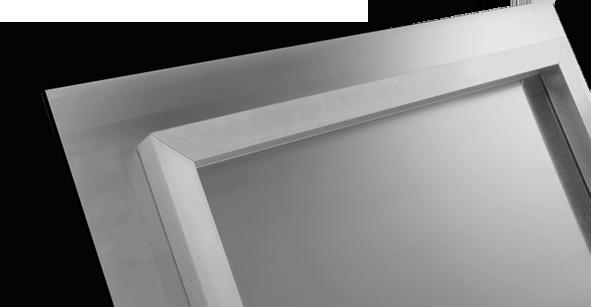 Collage sur aluminium