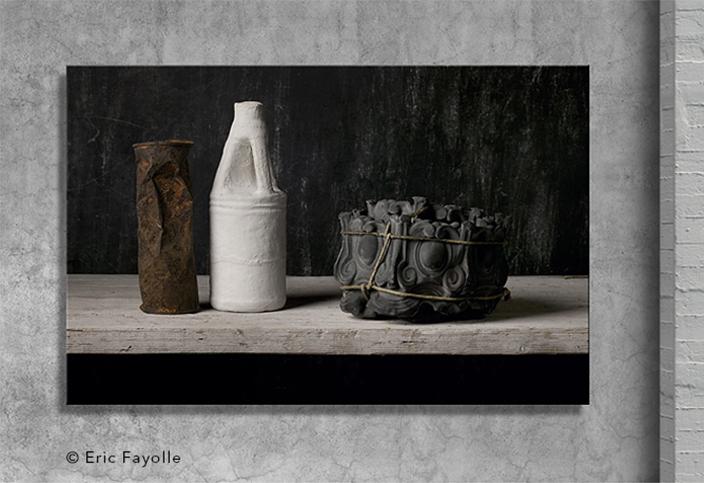 Plexicollage Éric Fayolle